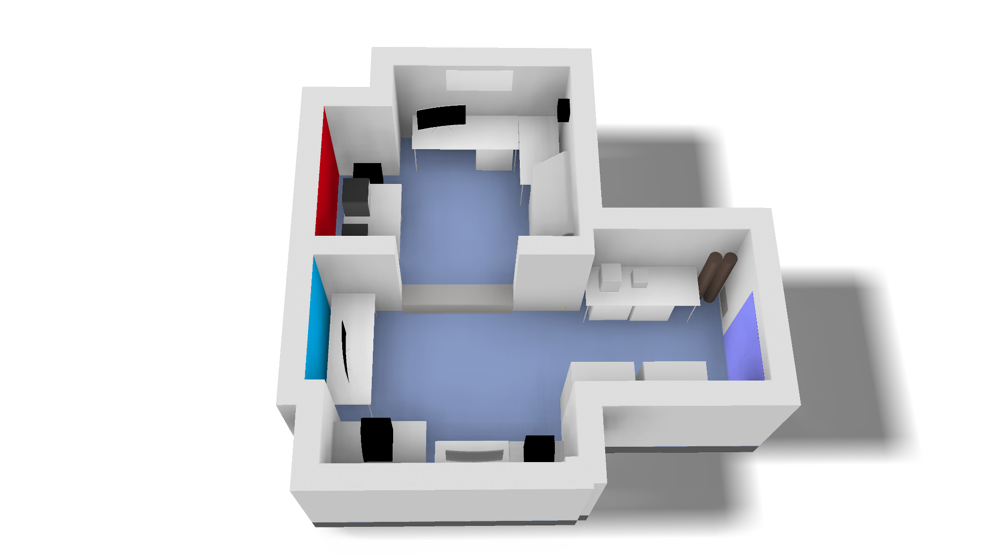 Layout of ANM lab