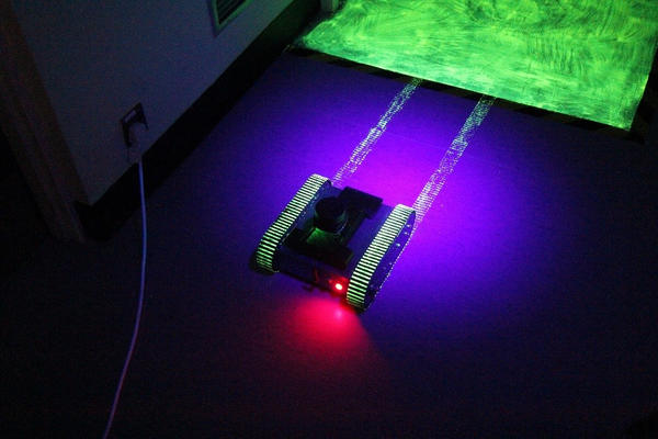 Tracked crawler robot