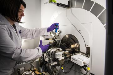 DCF scientist at work